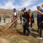 Planting 100 Pallks in the monastery of Mariwan city by Chya NGO